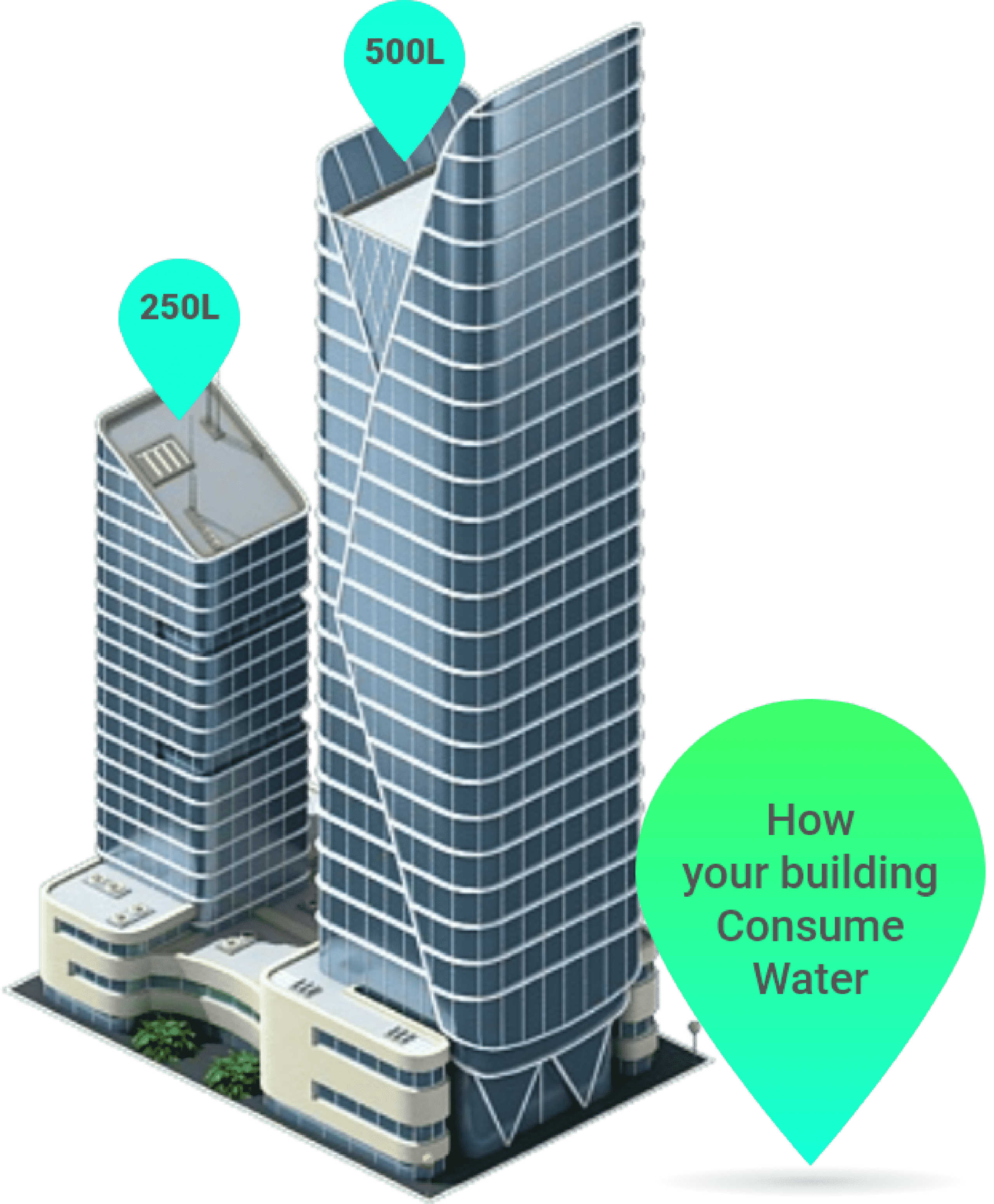 Building Figure for Water Consumption