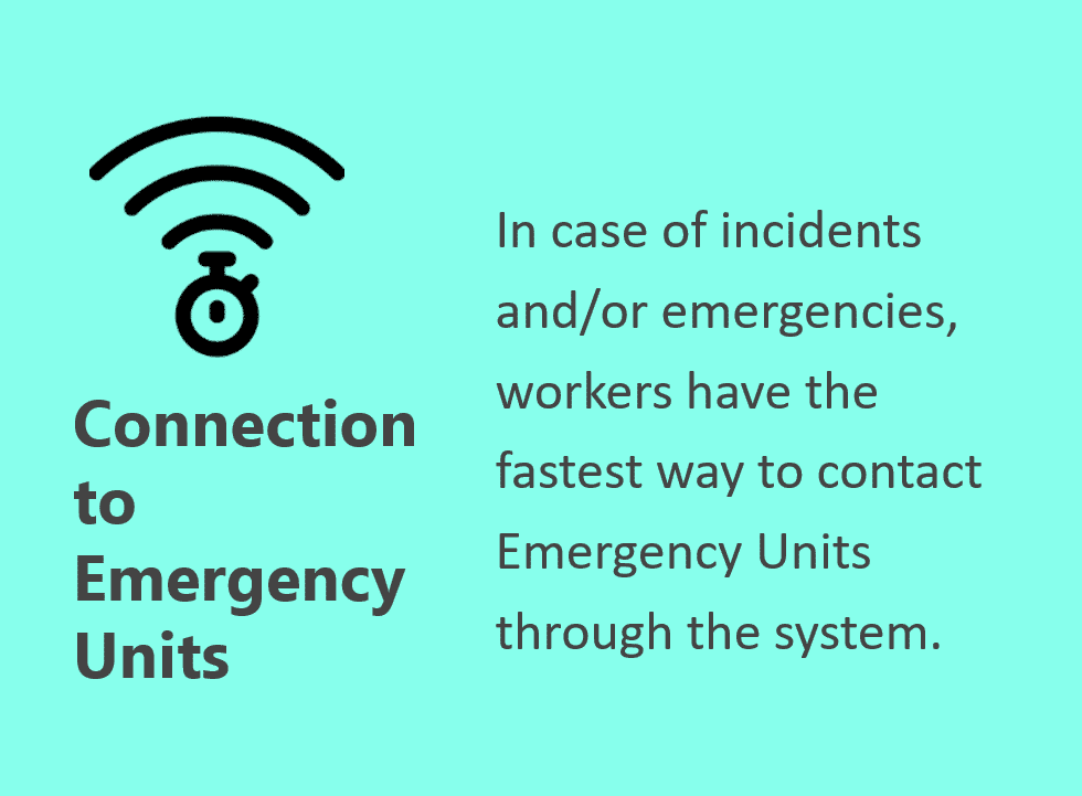 connection to emergency unit