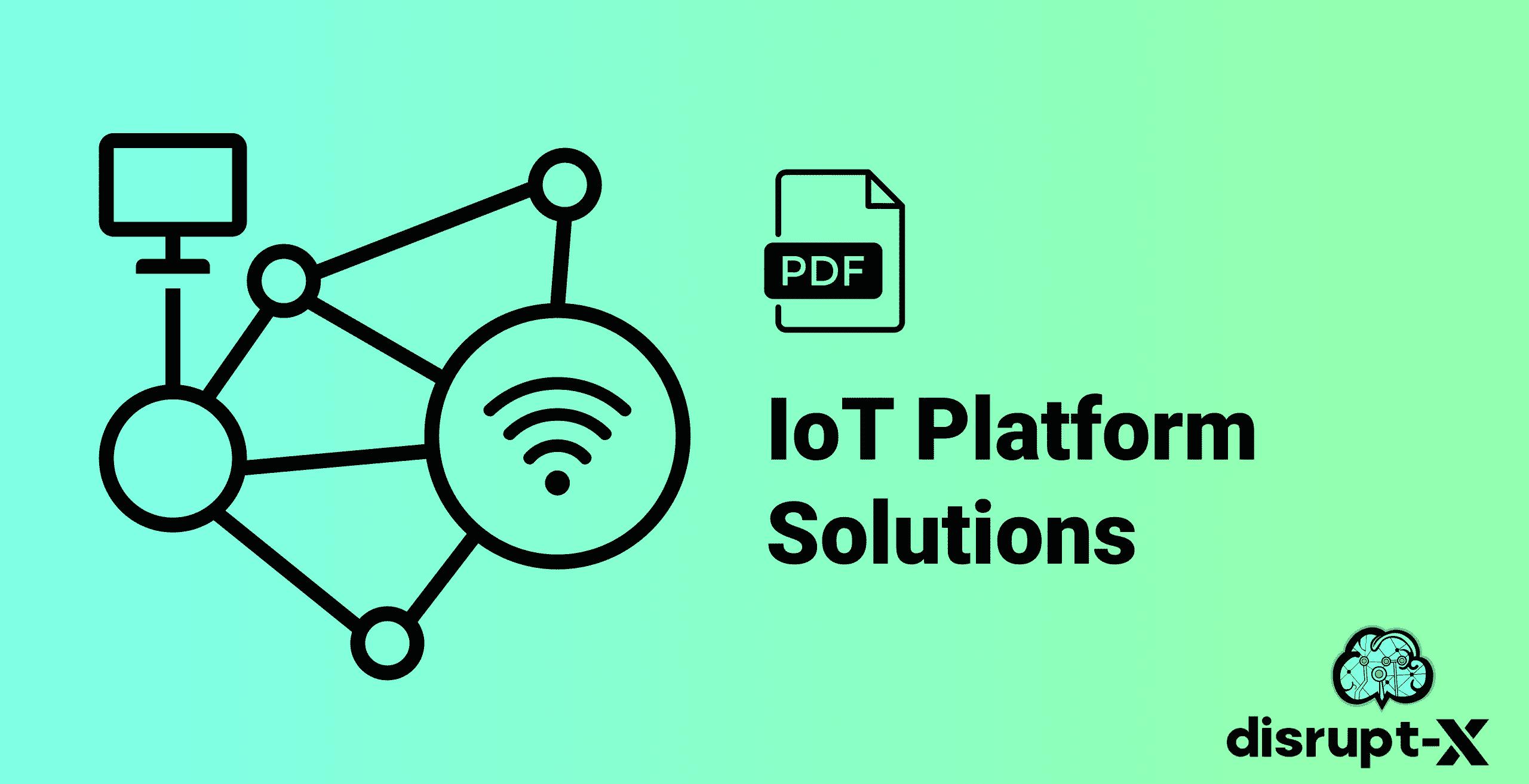 IoT Platform Solutions Thumbnail