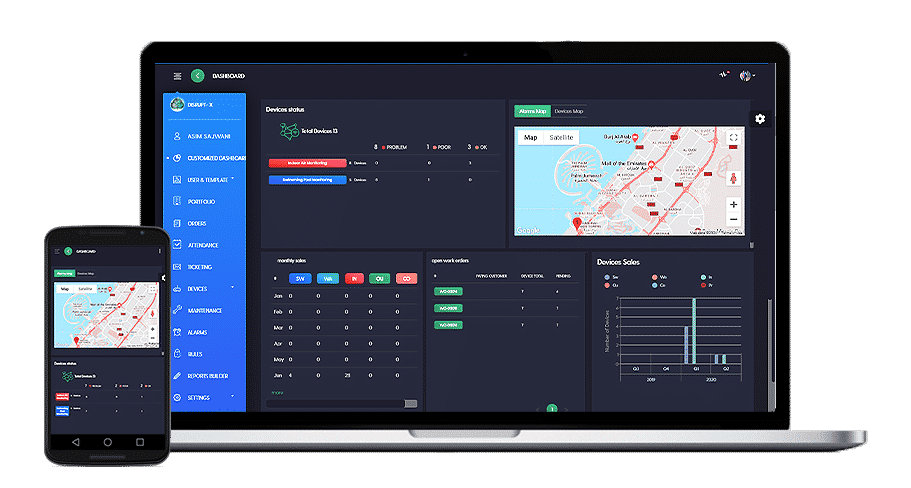 Disrupt- X Main Dashboard laptop and mobile