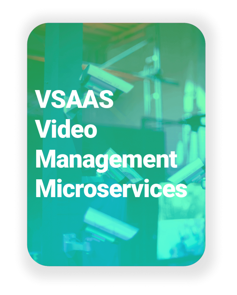 Disrupt-X VSaaS VMS Microservices