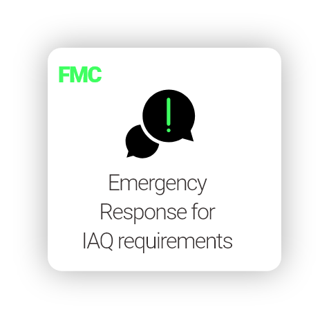 Emergency Response for Team (IAQ)