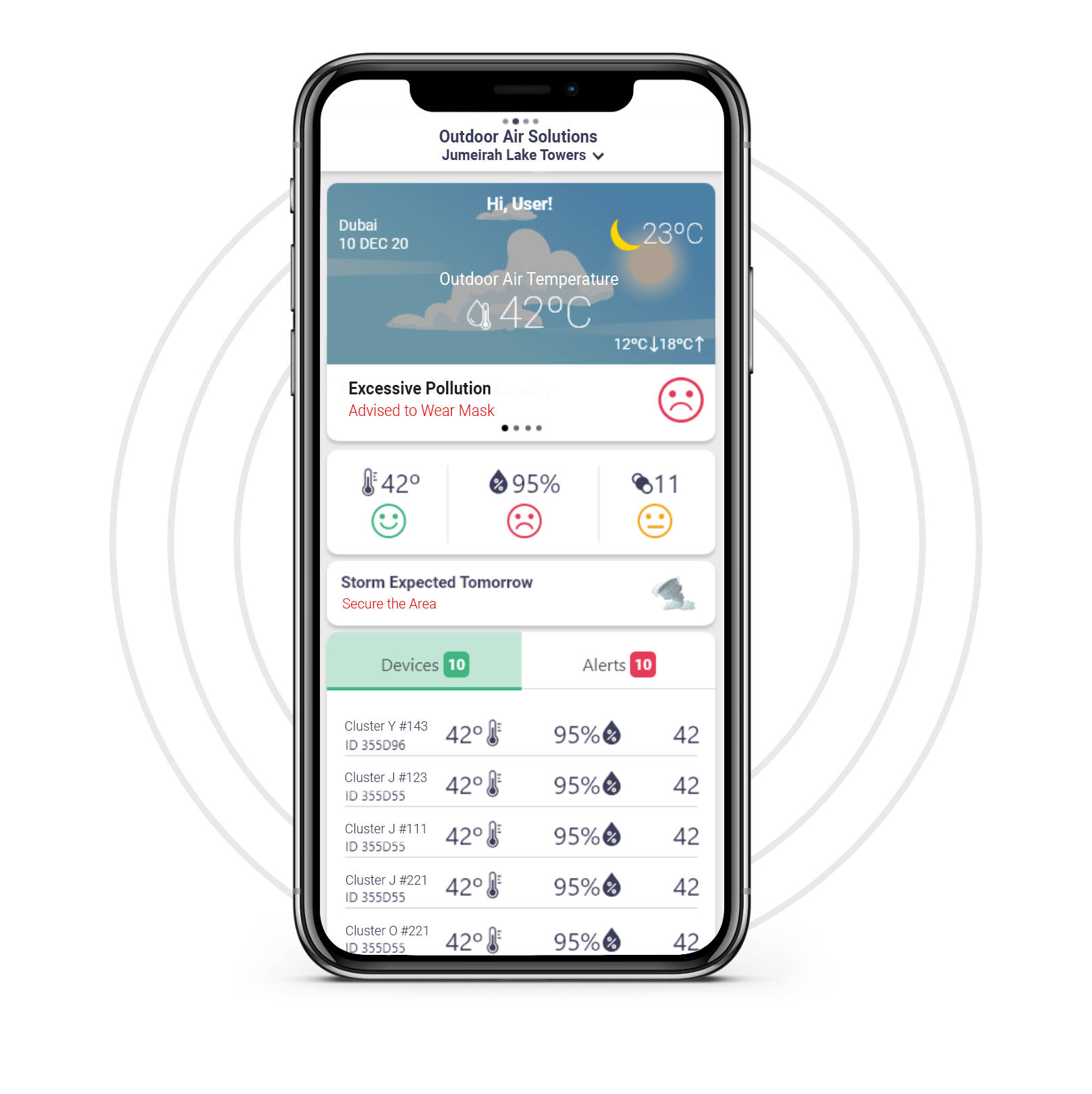 Ignite Shield's Outdoor Air Quality Weather Station- IoT Solution