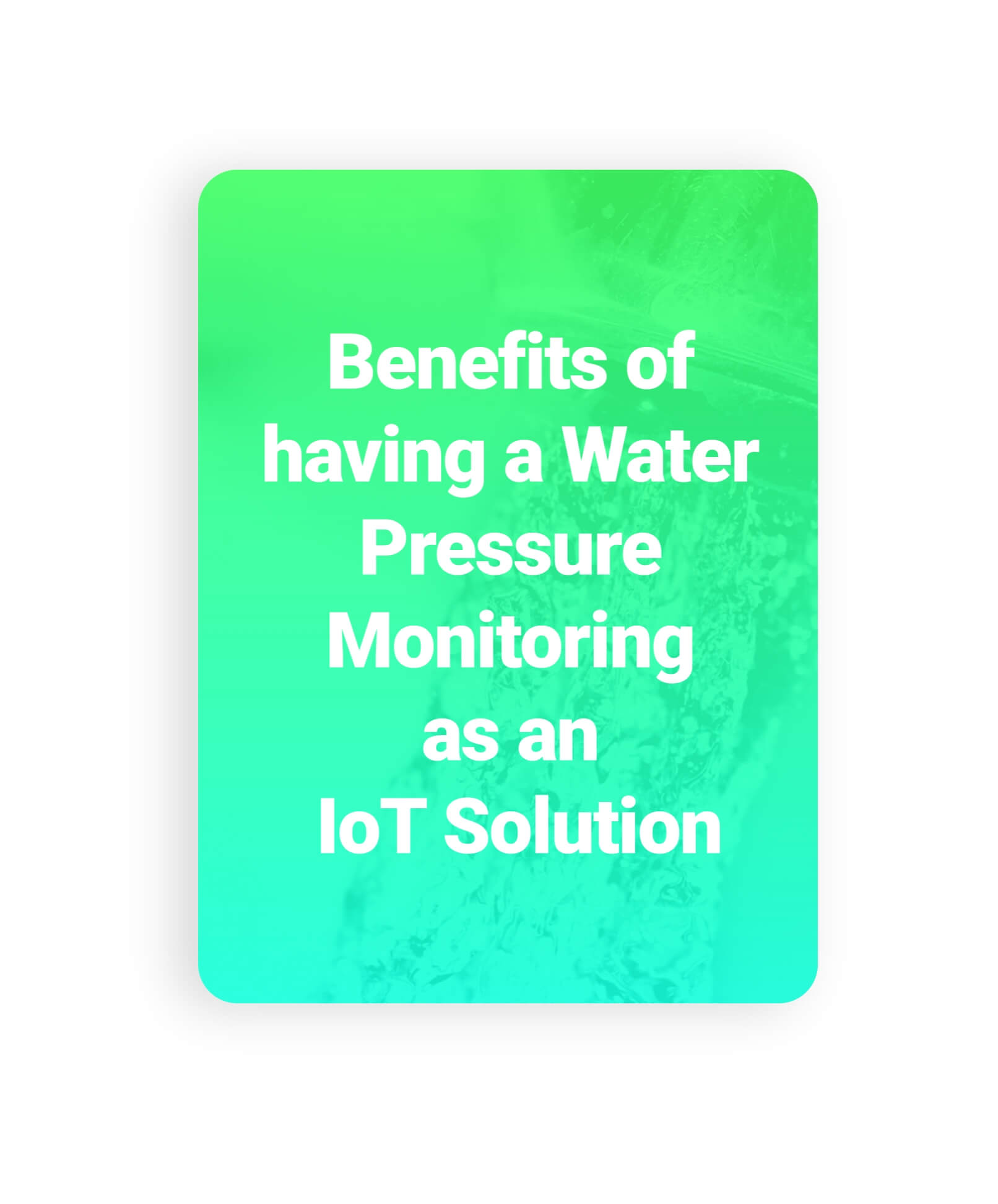 Benefits of Having an Outdoor Air Quality -IoT Solution