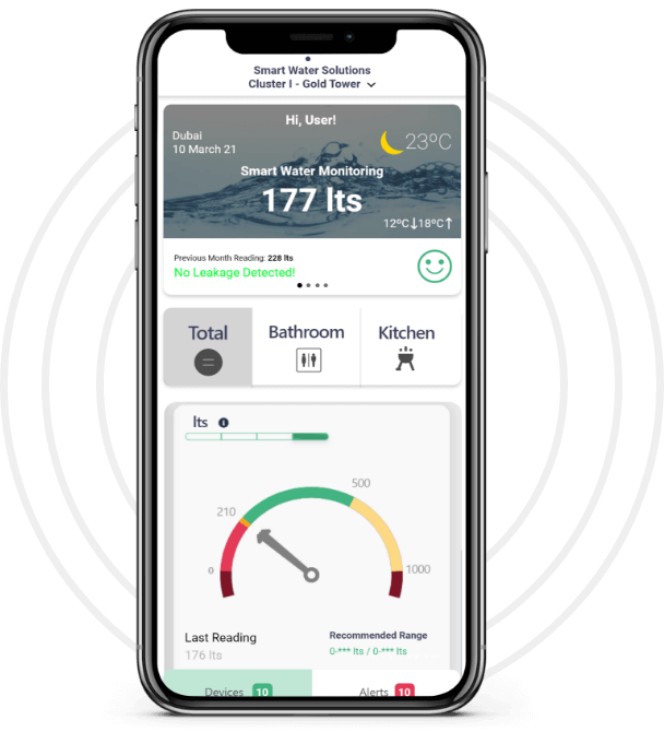 Smart Water Monitoring Mobile Application