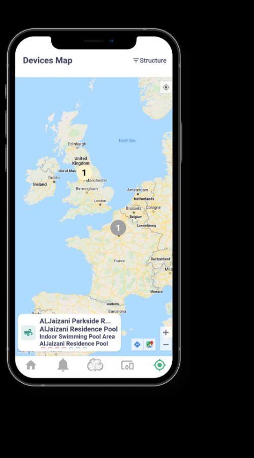 Mobile App_IgniteShield Map