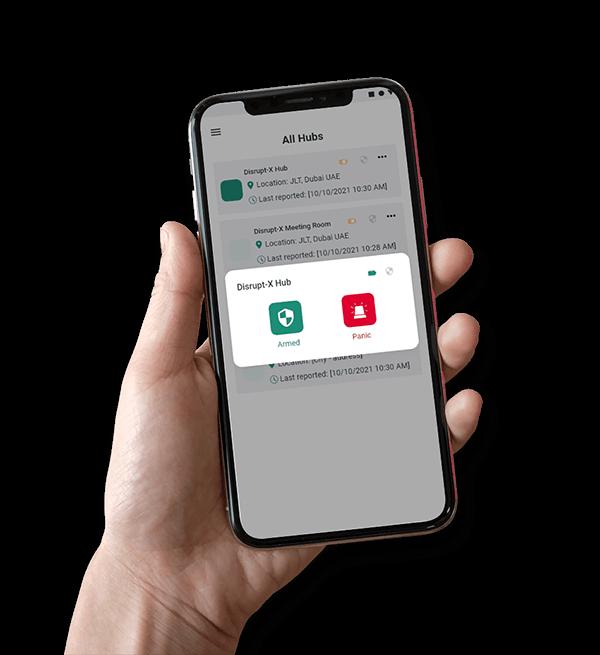 Intrusion Alarms Services- IoT Defcon Patrols Mobile App